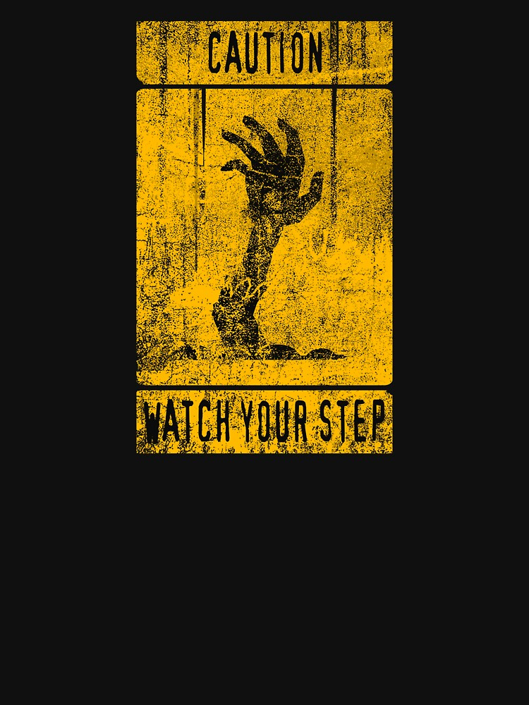 WATCH YOUR STEP by Letter-Q