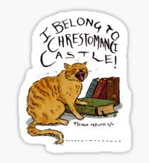 I belong to Chrestomanci Castle! Sticker
