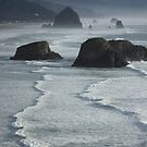 Haystack Rock by Tanya Shockman