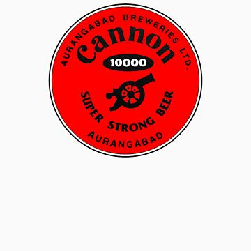 Cannon 10000 Super Strong Beer by vintagegraphics