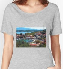 Kassiopi, Corfu Women's Relaxed Fit T-Shirt