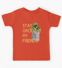 Stay Grouchy Kids Tee