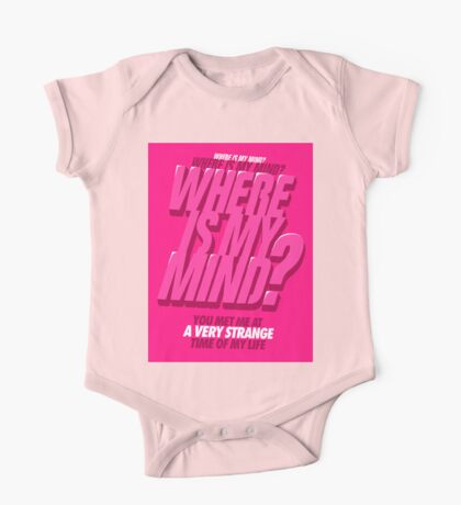 Where is my Mind? Kids Clothes