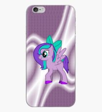 Custom Made Purple Pony iPhone Case