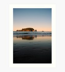 Hahei Beach - Sunset Art Print