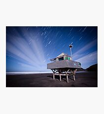 Bethells Startrails  Photographic Print