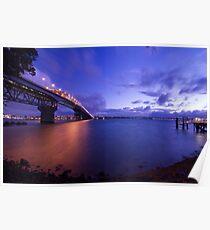 Auckland Harbour Bridge Poster