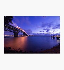 Auckland Harbour Bridge Photographic Print