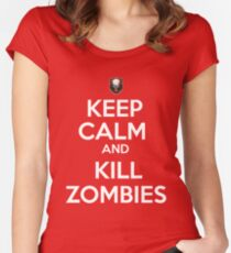 Zombies! Women's Fitted Scoop T-Shirt