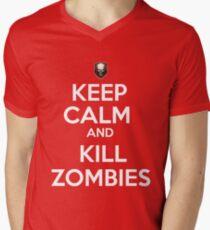 Zombies! Men's V-Neck T-Shirt