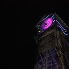 CLock Tower at Bonnaroo by Cathy Cale