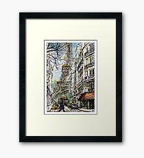 Paris 5 in colour Framed Print