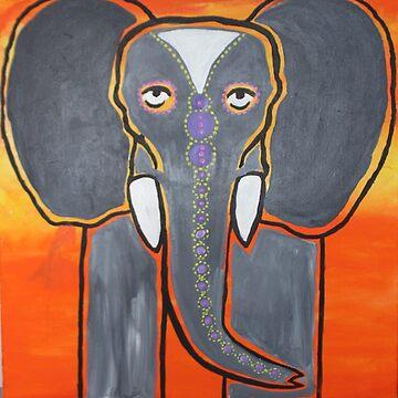 ELEPHANT by bonika