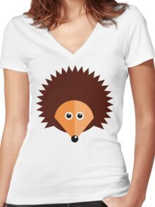 'Spike' - Graphic T shirt Women's Fitted V-Neck T-Shirt