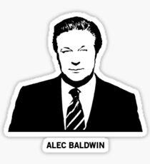 Alec Baldwin Sticker