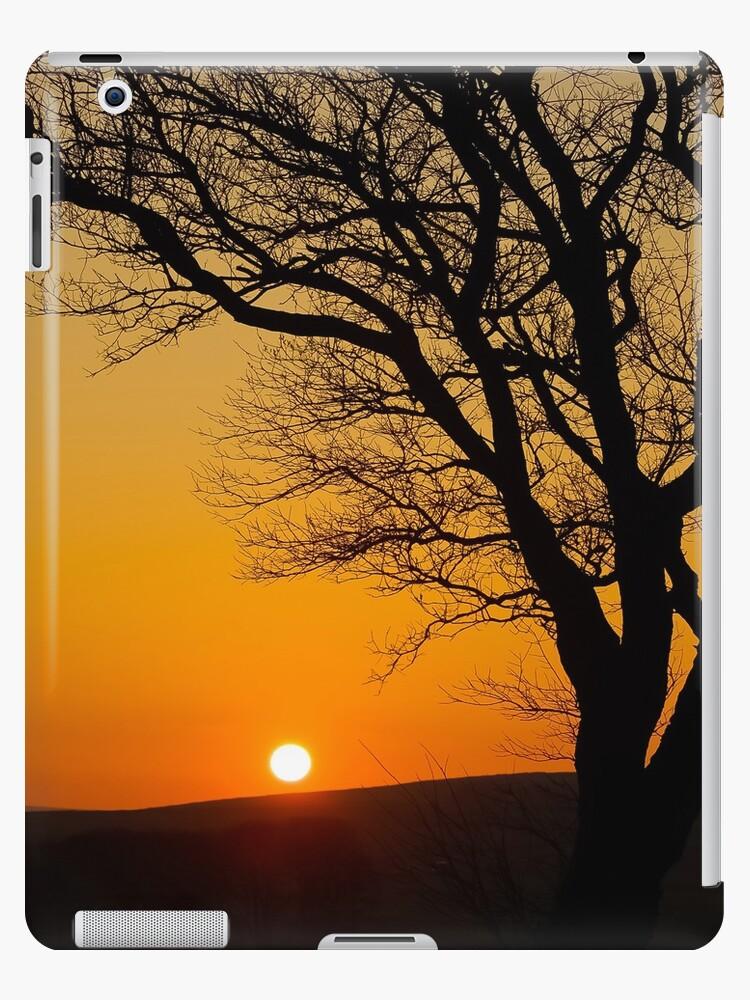 Sunset Silhouette In Derbyshire by Wild-Scorpio