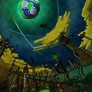 Alien World Concept by cadellin