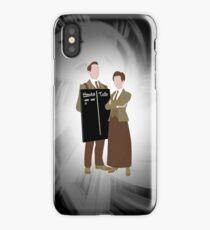 The Lutece Twins iPhone Case/Skin