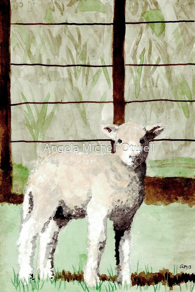 Lamb Illustration by Angela Micheli Otwell