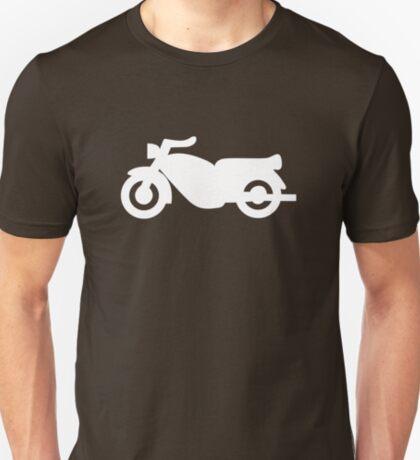 Motorcycle Icon - White T-Shirt
