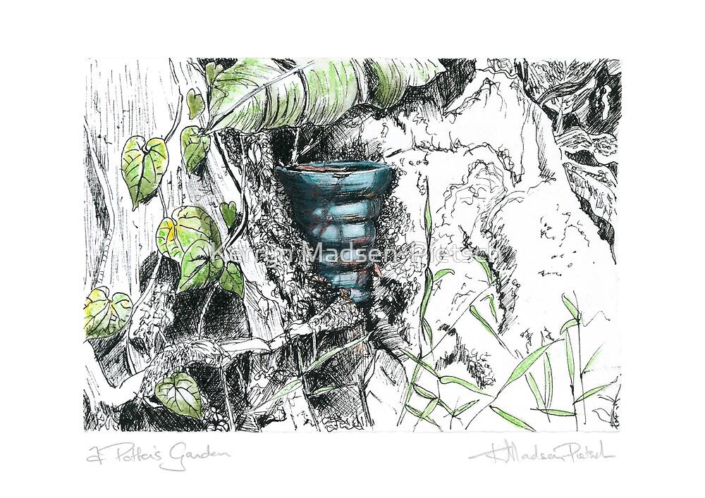 A Potter's Garden (No.7) by Kerryn Madsen-Pietsch