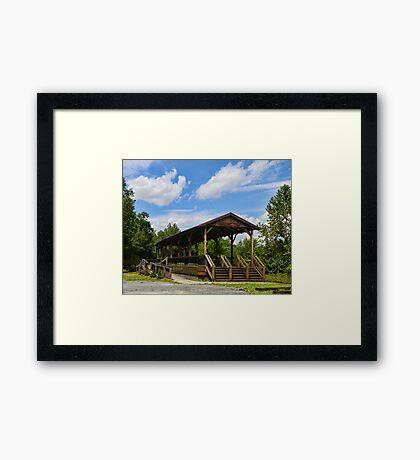 Hawley Pa Railway Station Framed Print