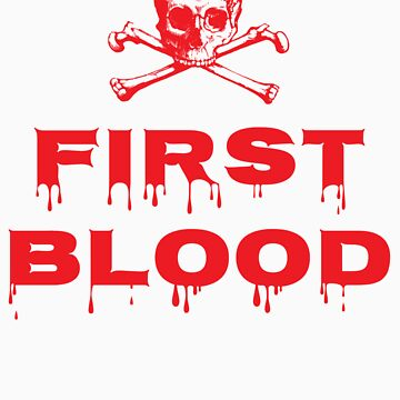 First Blood by LucieDesigns