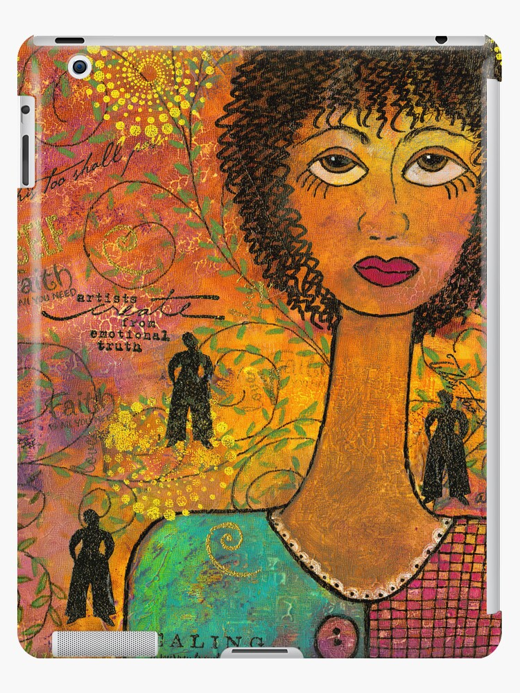 Emotional Truth - iPad Cover by © Angela L Walker