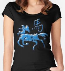 Year of The Water Horse 2002 & 1942 Women's Fitted Scoop T-Shirt