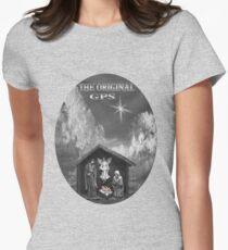 ☀ ツ THE ORIGINAL GPS TEE SHIRT ☀ ツ Womens Fitted T-Shirt