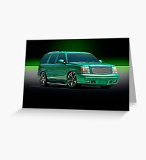 Gangsta' SUV Greeting Card