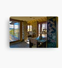 Taliesin, Frank Lloyd Wright, Architect Canvas Print
