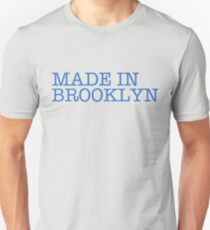 MADE IN BROOKLYN.  Slim Fit T-Shirt