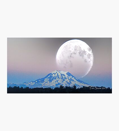 Giant Super Moon Photographic Print
