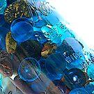 mason jar with glass beads by Tori Snow