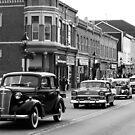 Antique Car Parade by Debbie  Roberts