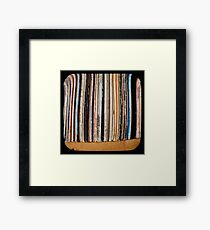 Records TTV Framed Print