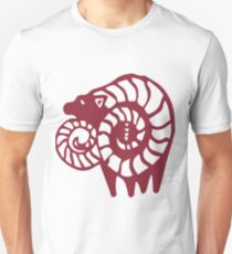 The Seven Deadly Sins - The Goat Sin of Lust (Red) Unisex T-Shirt