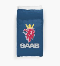 Saab logo products Duvet Cover