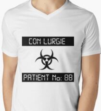 Con Lurgie [light shirts] Men's V-Neck T-Shirt