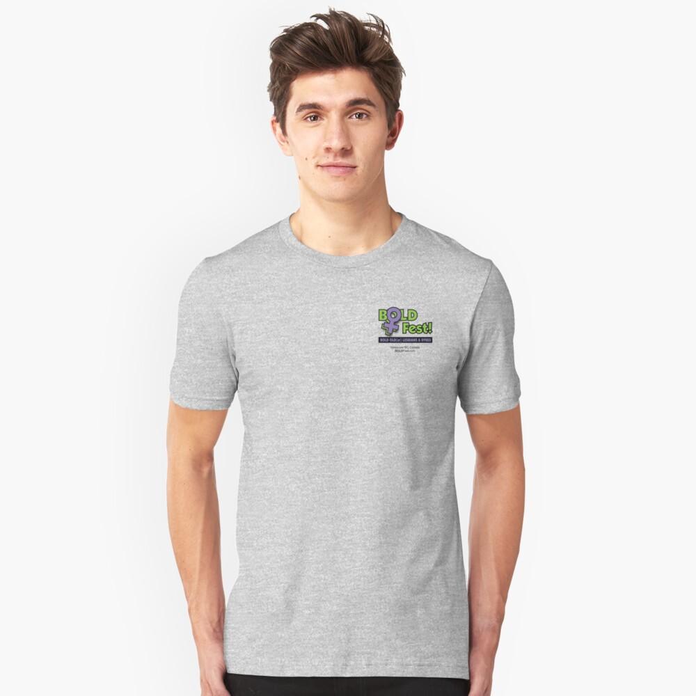 BOLDFest Fundraiser Logo Tee Slim Fit T-Shirt