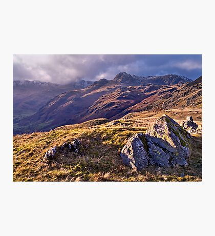 Langdale Light, Great Langdale - The Lake District Photographic Print