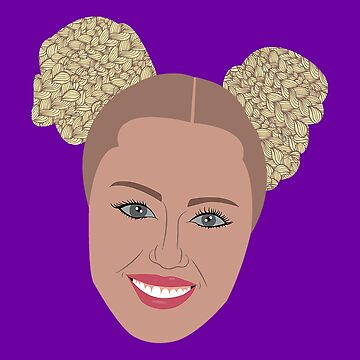 Miley's Last Red Carpet Look by ZVCHWILLIAMS