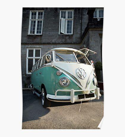 The Love Camper Van Poster