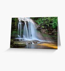 West Burton Falls (Cauldron Falls) - The Yorkshire Dales Greeting Card