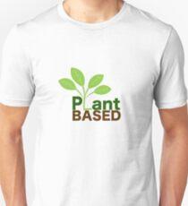 Plant Based Vegan Art T-Shirt