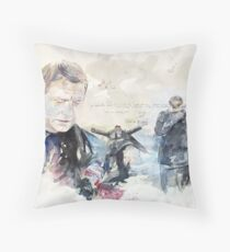 Last Meeting Throw Pillow