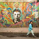 Street Art, Bogota by Bob Ramsak