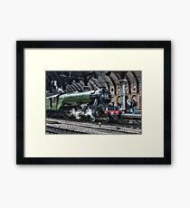 4472 Flying Scotsman Framed Print