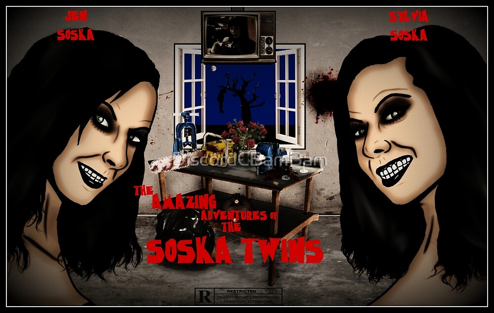 The Amazing Adventures of the Soska Twins by DiscordCBamBam